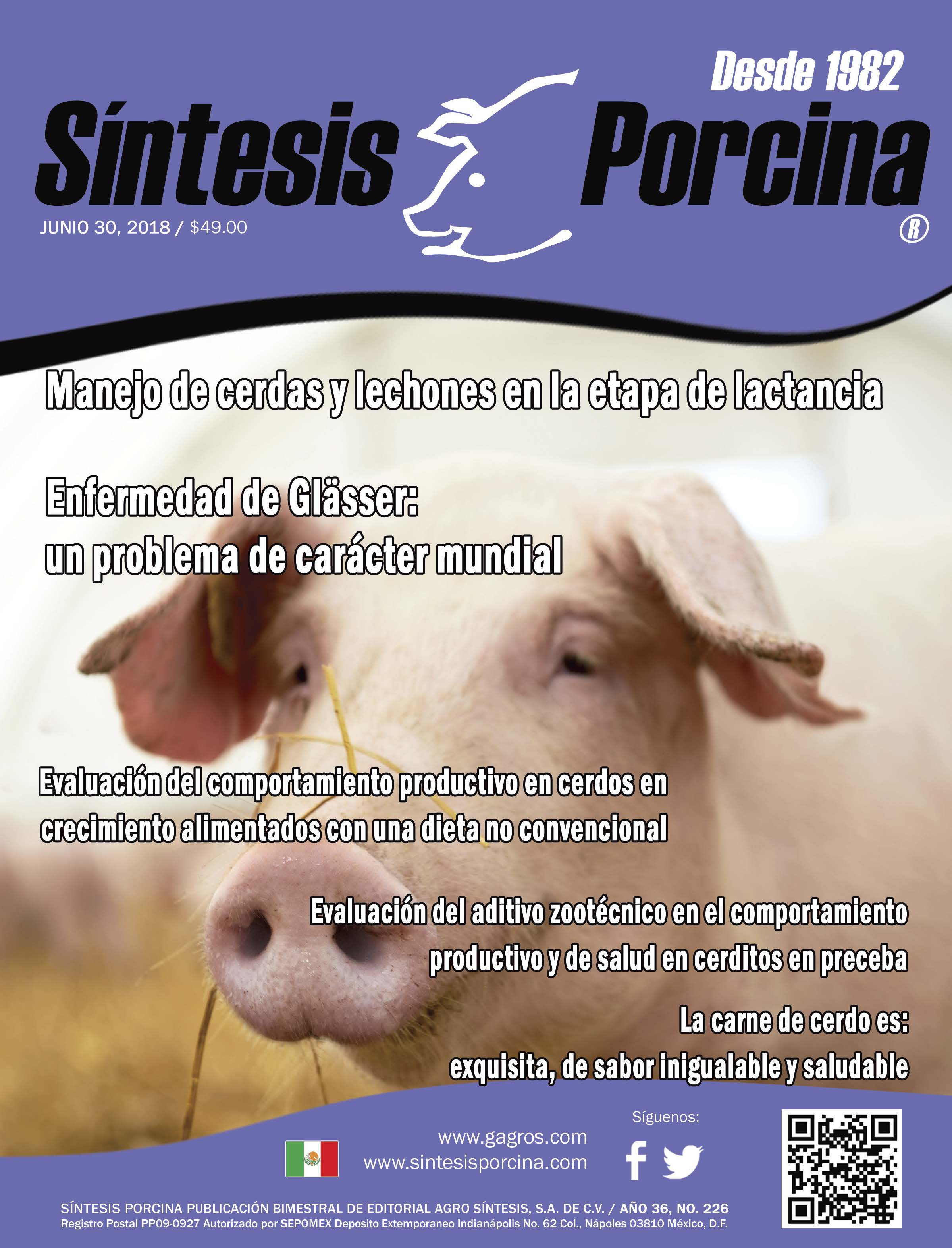 Síntesis Porcina, Revista Digital Junio 2018