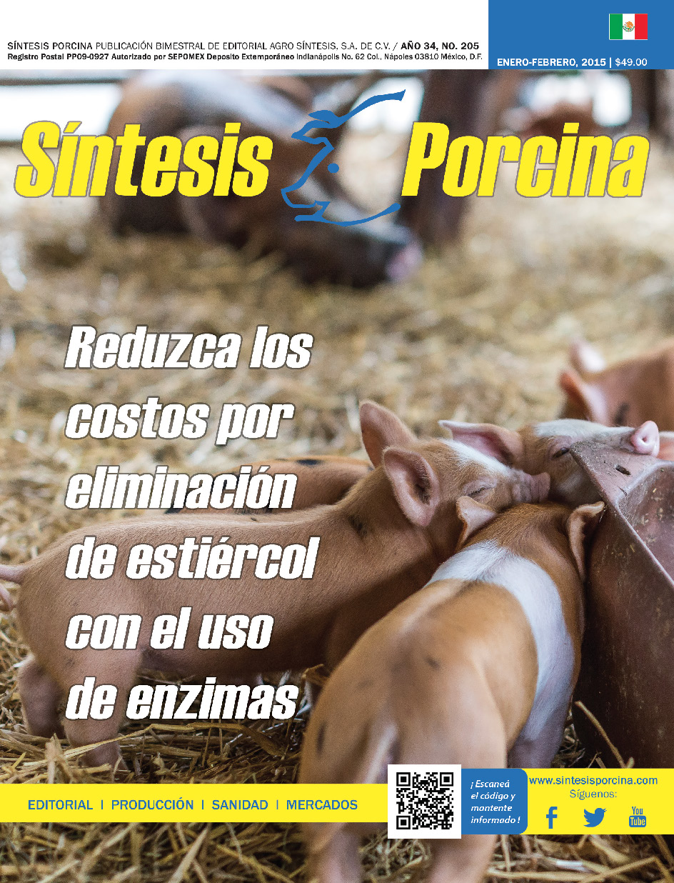Síntesis Porcina, Revista Digital Enero 2015